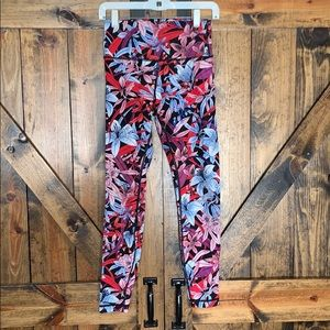 NWOT Lululemon high rise floral leggings!